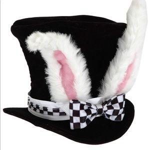 Alice in Wonderland rabbit top hat.